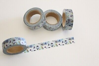 Washi Tape, Field of flowers washi tape, Floral Washi Tape, Planner accessories