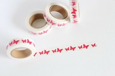 Butterfly washi tape, Cute Washi Tape, Planner accessories