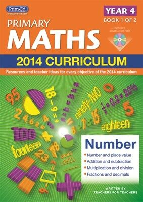 Primary Maths 2014 Curriculum Resources & Teacher Ideas Year 4 Book 1 of 2 Y1PM