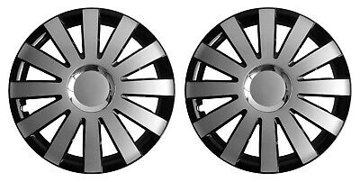 OUTLET 13'' Hub caps Wheel trims for Caravans with 13'' wheels - black/silver