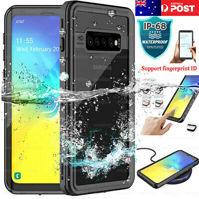 For Samsung Galaxy S10 5G S10+ Waterproof Shockproof Case Full Protection Cover