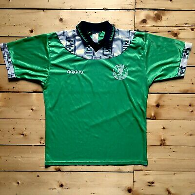 Nigeria home football shirt 1994 - Authentic - World Cup 94 - Soccer Jersey (L)