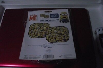 MINION Minions Despicable Me car sun shade twin pack