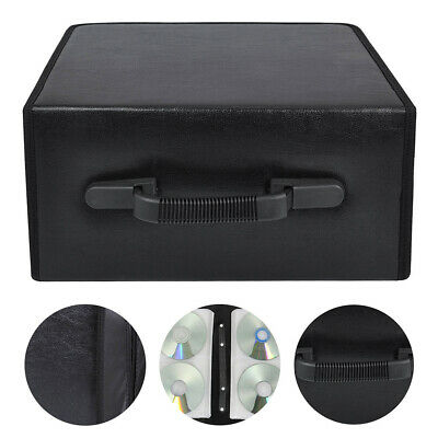 400 Sleeve CD DVD Ray Disc Carry Case Holder Protector Storage Bag Wallet Binder