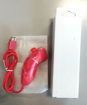 Controller Nunchuck Rosso NUOVO Wii - Nintendo Wii