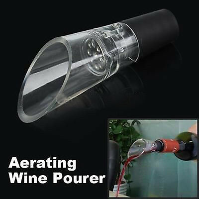 Red White Wine Aerator Pour Spout Bottle Stopper Decanter Pourer Aerating Tools