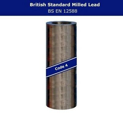 150mm to 1400mm Width Flashing 3m or 6m Long Code 4 Lead Rolls