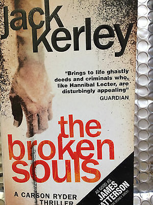 The Broken Souls (Carson Ryder, Book 3) by J. A. Kerley (Paperback, 2007)