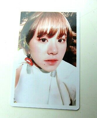 Twice Chaeyoung Signal Preorder Photocard Benefit Official Kpop K-pop UK