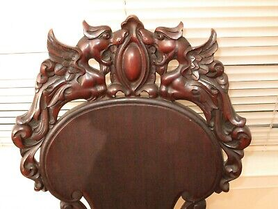 Antique Carved Dragon Chair Frederick & Loeser Ny Fabulous Designer Chair Walnut