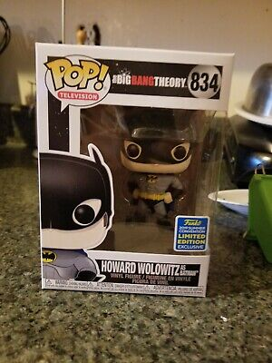 Funko POP! Howard Wolowitz as Batman #834 SDCC Shared Exclusive Preorder