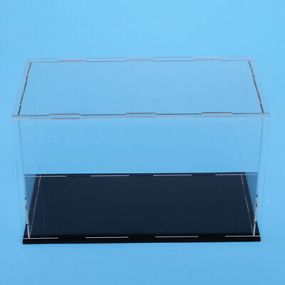 MagiDeal Clear Showbox Display Case Perspex for Mini Doll Models 38x35x36cm