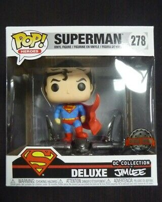 DC Comics - Pop! - Jim Lee : Superman Gargoyle n°278 deluxe - Funko
