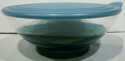 Tupperware Sheerly Elegant Acrylic 6-1/3 Cup Serving Bowl Green 4817