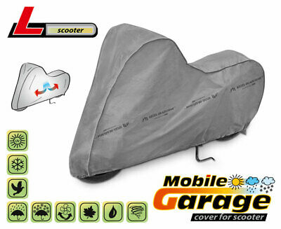 Scooter Cover Breathable UV Protection fit Piaggio Peugeot Vespa BMW