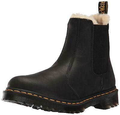 d526763c441 DR. MARTENS WOMEN'S Leonore Burnished Wyoming Leather Fashion, Black ...
