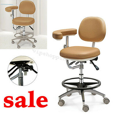 Dental Adjustable Chair Soft PU Leather Doctor's Stool for Dentist Sterile