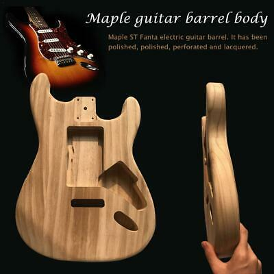 Wood Type Electric Guitar Accessories Material Maple Guitar Barrel Body Lot