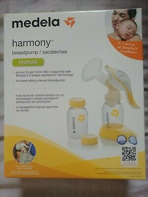 Medela Harmony 2-phase Expression Manual Breast Pump Set 67186 EUC