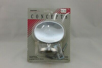 BA-190 Vintage Taymor Bathroom Wall Mount Chrome Toothbrush Holder  Hardware NIB