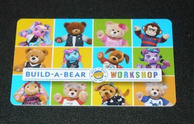 $25 Build a Bear Workshop Gift Card - No Expiration - Physical Plastic Card