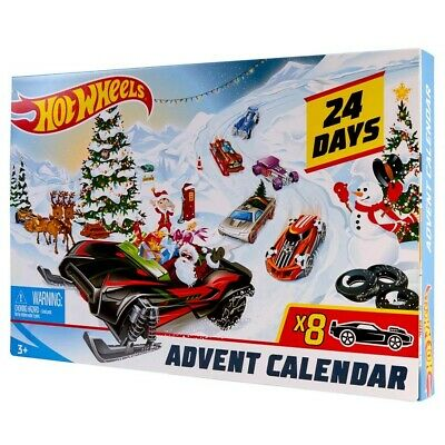 Hot Wheels Advent Calendar 2020 NEW HOT WHEELS Holiday 2019 Christmas Cars With 2020 New Year Car