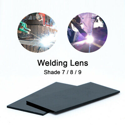 20 x Arc Welding Lenses 108mm×50mm Black Glass Polycarbonate Lens Shade 7/8/9 AU