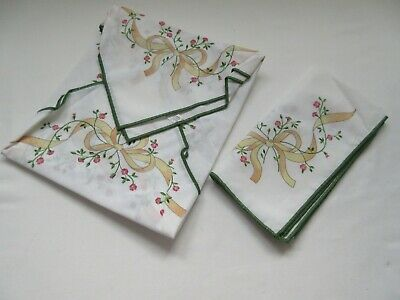 3 Eternal Beau poly cotton table napkins serviettes with original packaging