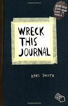 Wreck This Journal: To Create is to Destroy, Now With... | Book | condition good
