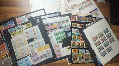 British Commonwealth Mint And Used  Old Stamp Collection