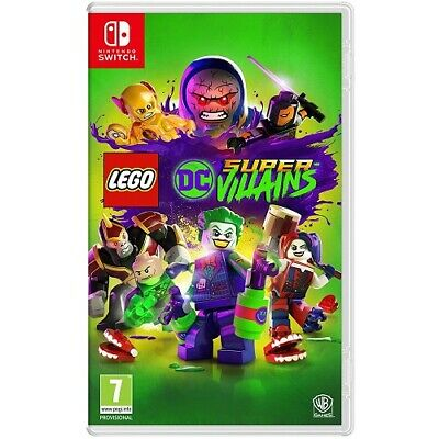 Lego DC Super Villains [NEW & SEALED] Nintendo Switch Game