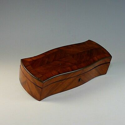 Antique French Parquetry Rosewood Box