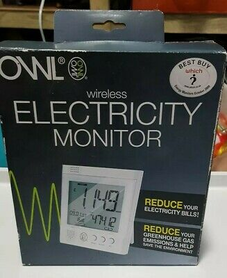 Owl,  wireless electricity monitor.sealed