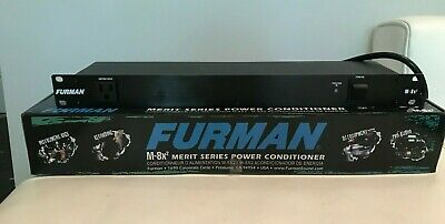 Furman M-8x2 15 Amp Rack Mount Power Conditioner (Brand New)