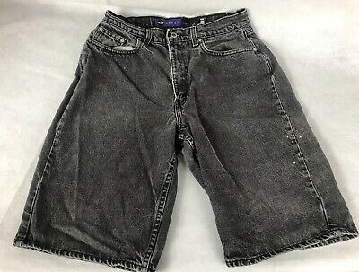 VTG 90's Levis SilverTab Baggy Grunge Shorts Size 28 Made USA