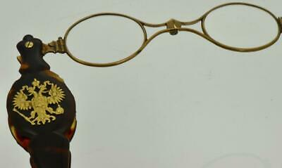 Very rare and collectible antique Imperial Russian luxury lorgnette c 1880's