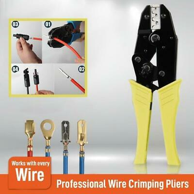 Wire Crimpling Pliers - Professional Wire Crimpers Engineering Ratchet Terminal