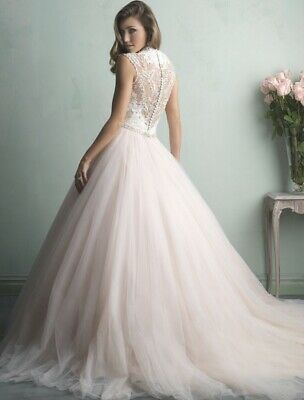 Allure bridal 9162 wedding dress ball gown Size 10
