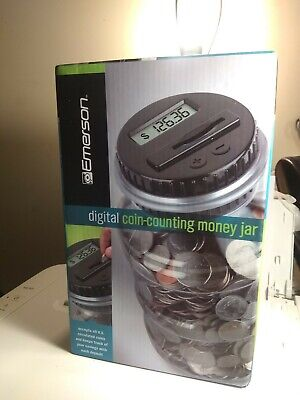 Emerson Digital Coin - Counting Money Jar