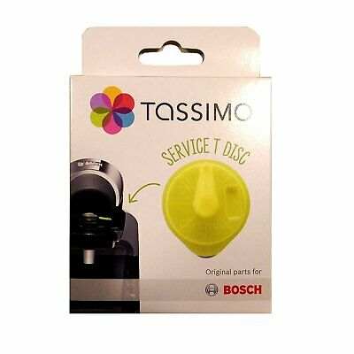 4 x Bosch 621101 Yellow Service T-Disc for Tassimo T20/T40/T65/T85