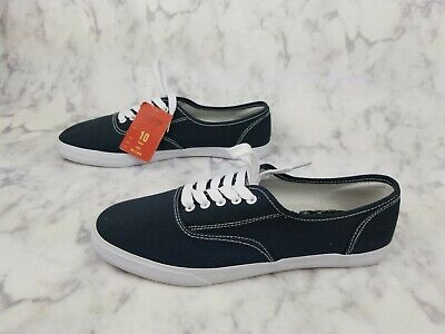 Mossimo Womens Navy Stars Lunea Canvas Sneakers Various Sizes NWT!