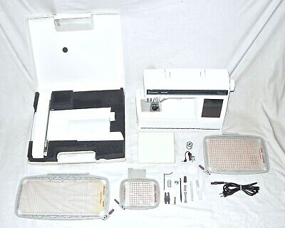 HUSQVARNA VIKING DESIGNER 1 Computerized Sewing & Embroidery Machine + Extras