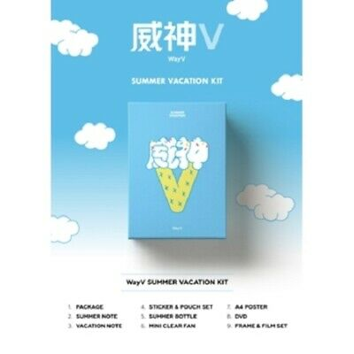 2019 WayV NCT CHINA SUMMER VACATION KIT SUMMER NOTE + DVD + BOTTLE + FILM SET