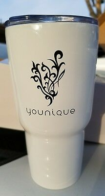 BRAND NEW 20OZ Stainless steel double wall white tumbler