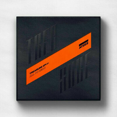 "SJmusic [ATEEZ] Treasure EP.1 ""All to Zero"" CD+PhotoBook+etc+Cards+POSTER SEALED"