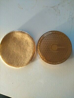 Vintage  Made in  ENGLAND Mirror Powder Compact immaculate condition
