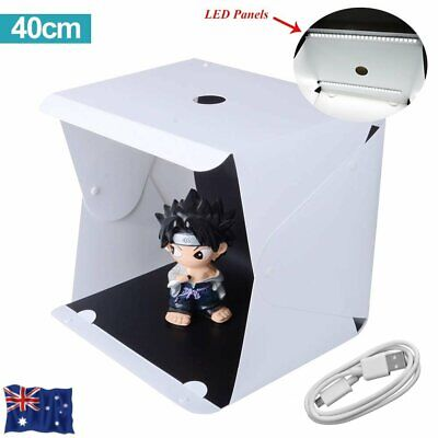 40cm Folding Lightbox Photography Box Light Softbox for Camera Photo Background