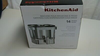 KitchenAid Cold Brew Coffee Maker KCM4212SX Brushed Stainless Steel BRAND NEW