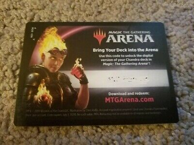 [CODE ONLY] MAGIC MTG ARENA Chandra Planeswalker Deck CORE SET 2020 M20