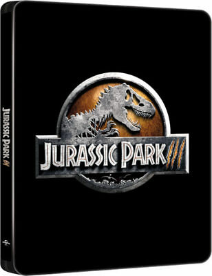 Jurassic Park III - 4K UHD (4K Ultra HD + Blu-ray) Limited Edition Steelbook NEW
